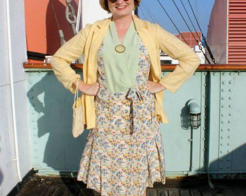 "1920s ""Cruise"" Dress"